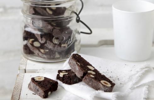 Cantucci al cioccolato, biscottini toscani