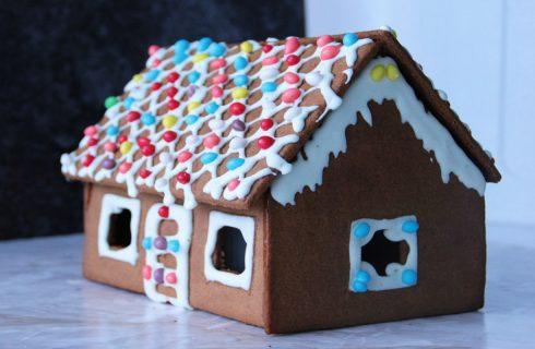 Casetta pan di spezie, per il vostro Natale