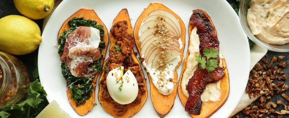 L'erede della moda dell'avocado toast: sweet potato toast