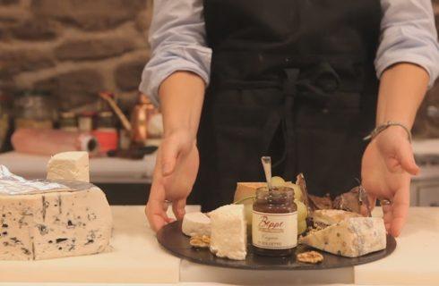 Come comporre un tagliere di formaggi caprini