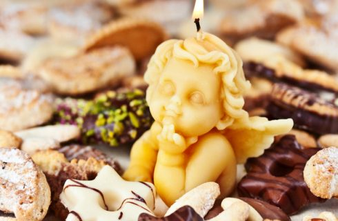 Le candele dolci di Natale, la ricetta del dessert per stupire