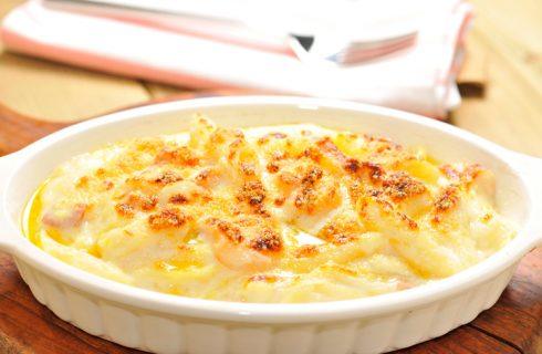 La pasta al forno con i fiori di zucca, il primo piatto per le feste di Natale