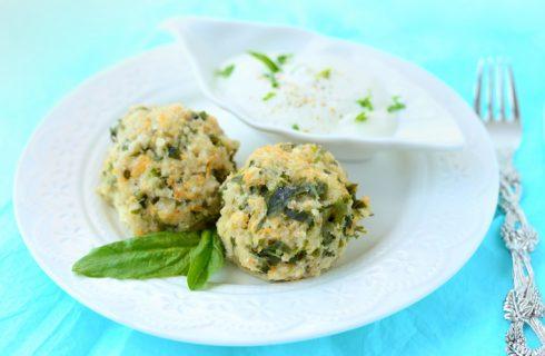 Polpette di spinaci al forno: la ricetta light
