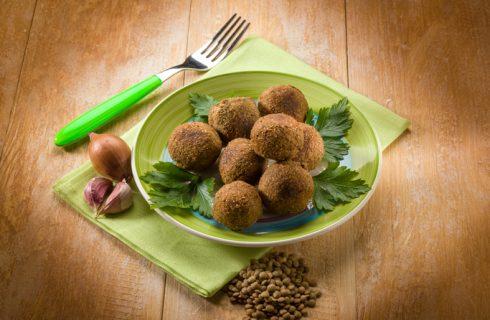 Le polpette con lenticchie e patate da fare con il Bimby per Capodanno