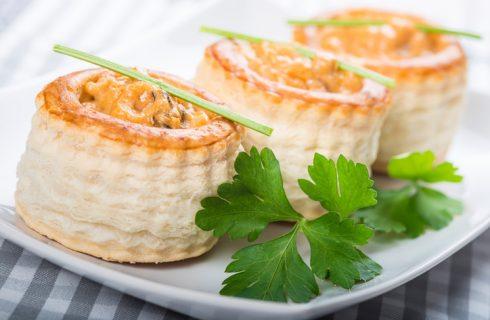 I vol-au-vent alla crema di zucca: la ricetta per gli antipasti di Natale