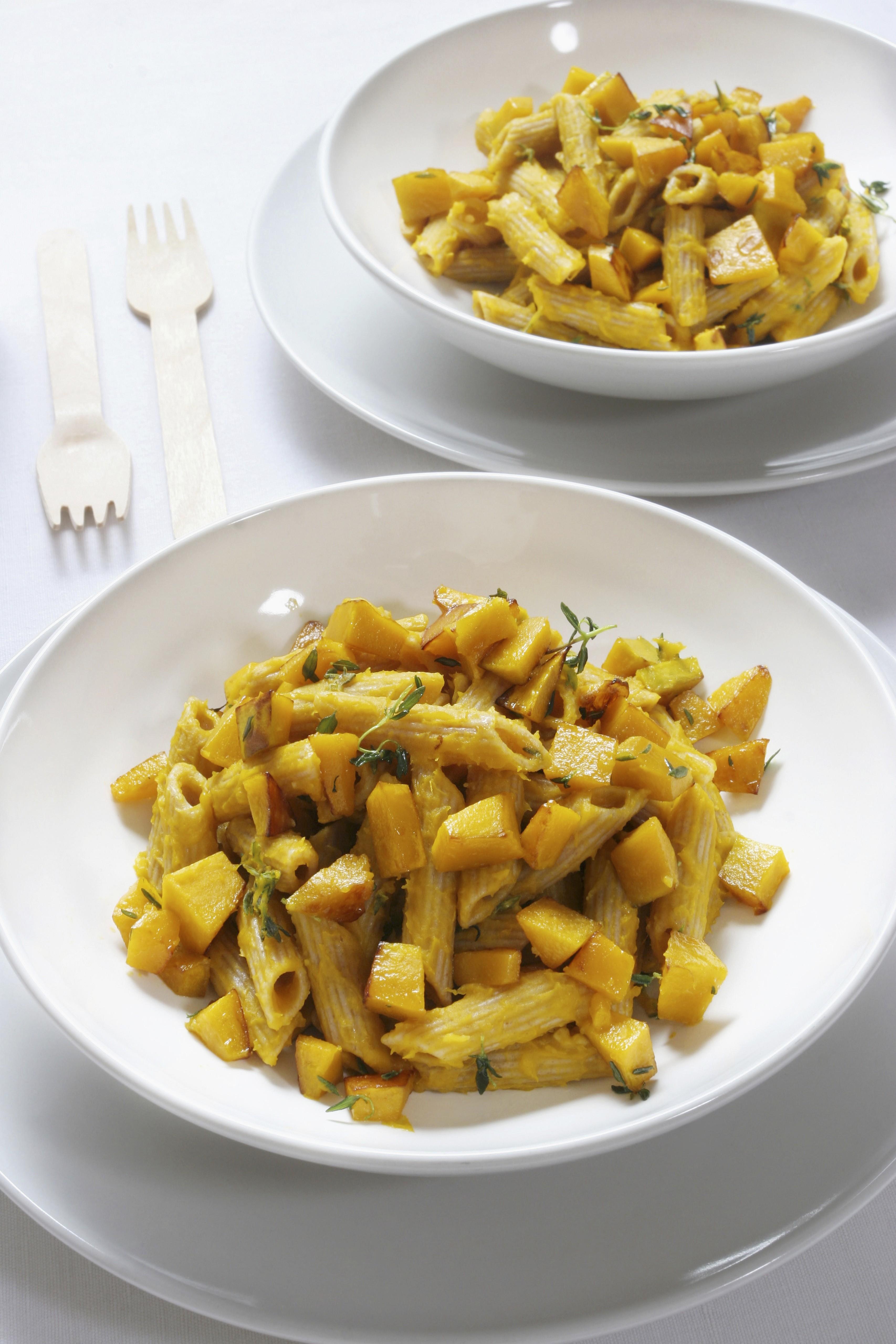 Pasta con la zucca primo piatto cremoso agrodolce for Ricette zucca