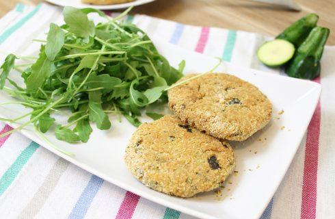 Hamburger di zucchine: ricetta vegana