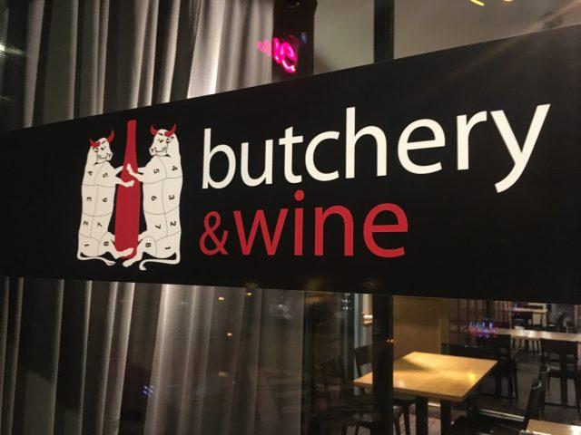 Insegna butchery&wine