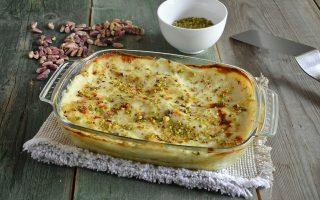 Lasagne al pistacchio: pasta al forno vegetariana