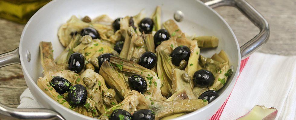 Ricetta carciofi affogati agrodolce for Carciofi ricette