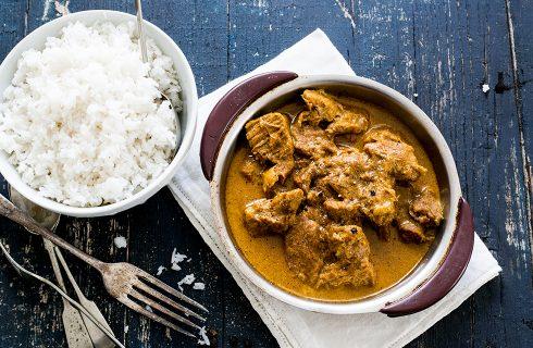 Curry di agnello: cucina indiana