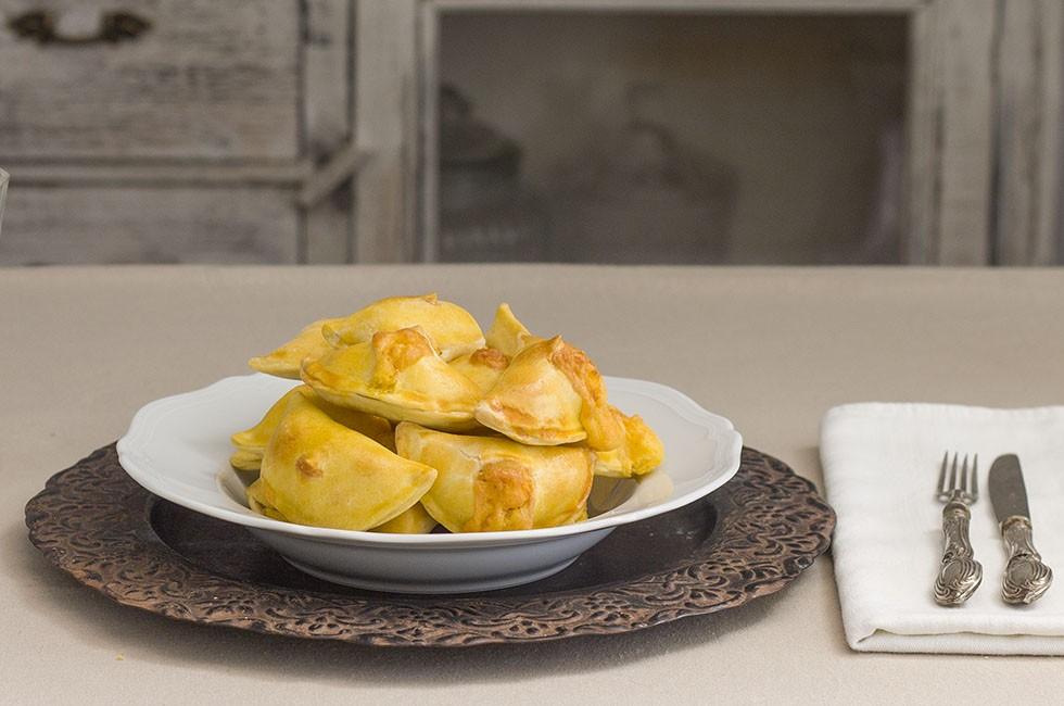 Fiadoni abruzzesi, al formaggio
