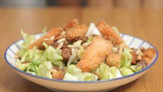 Insalata canasta e salmone: veloce e gustosa