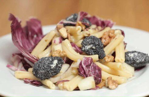 Insalata radicchio e gorgonzola: primo vegetariano