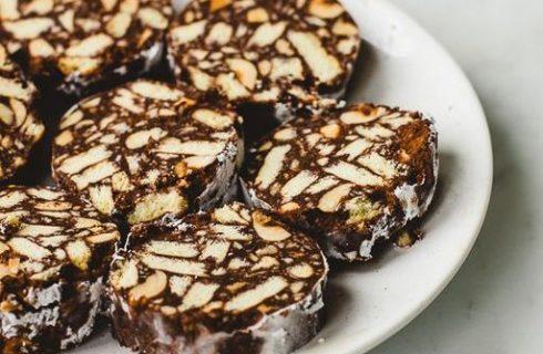 Ecco il salame di cioccolato con mascarpone