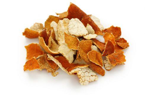 La polvere di scorza d'arancia da fare in casa facilmente