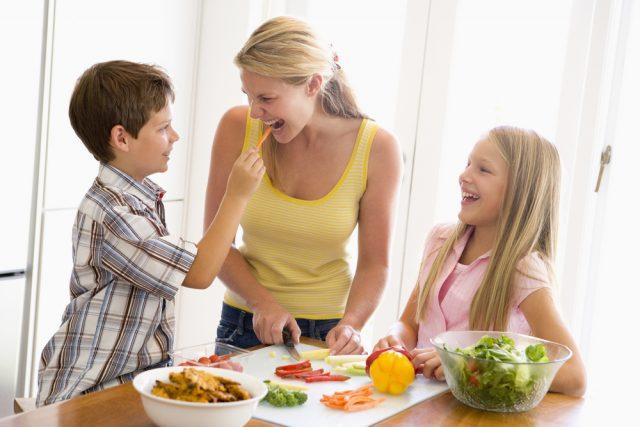 menù per bambini