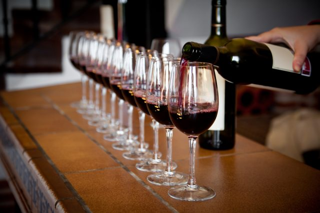 verticale vino