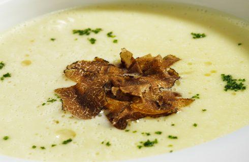 La crema di patate e porcini per le cene d'inverno