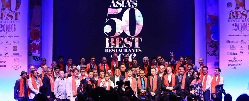Coming Soon: Asia's 50 best Restaurants