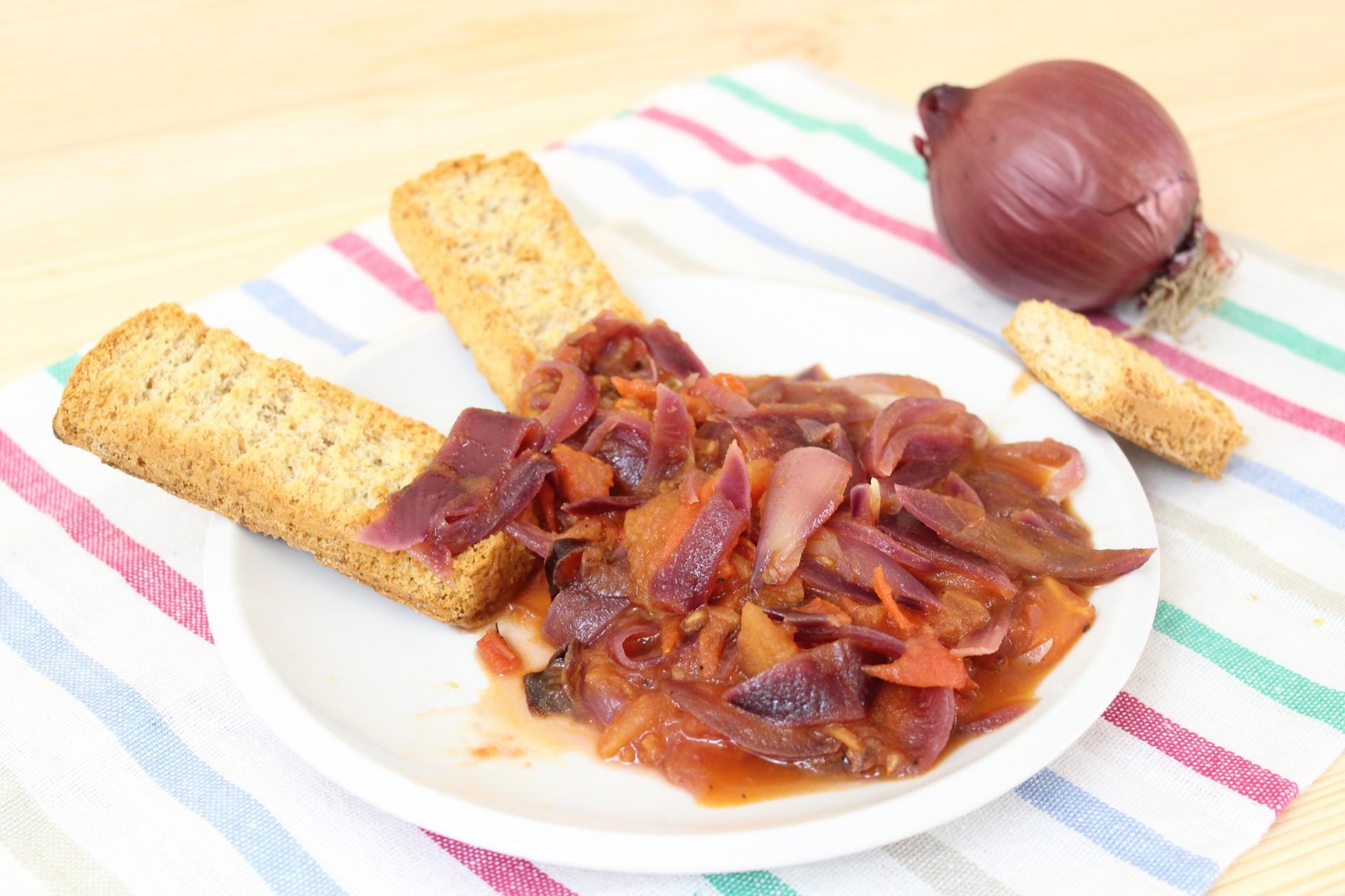 Ricetta cipollata agrodolce for Ricette toscane
