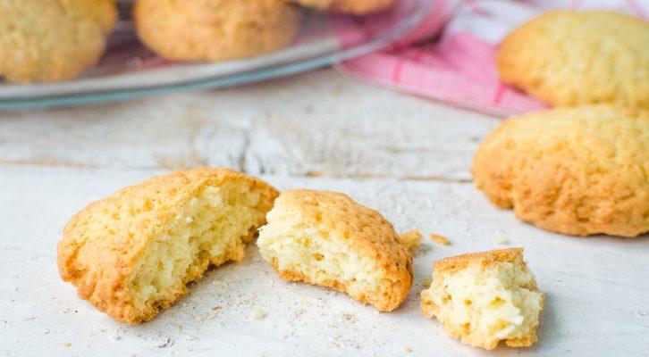 I biscotti con farina di riso e cocco da preparare in poche mosse