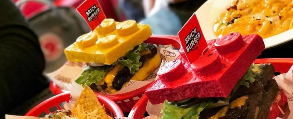 Brick burger, il panino per gli appassionati di Lego