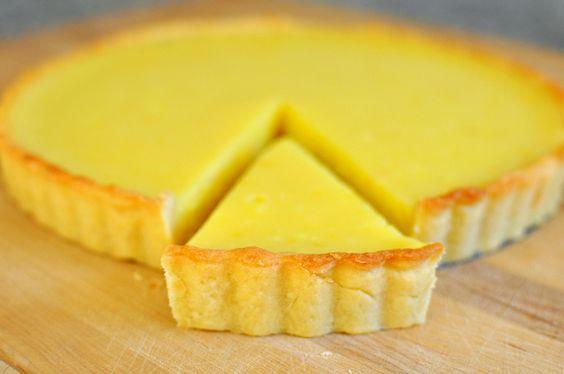 La crostata al lemon curd di Csaba