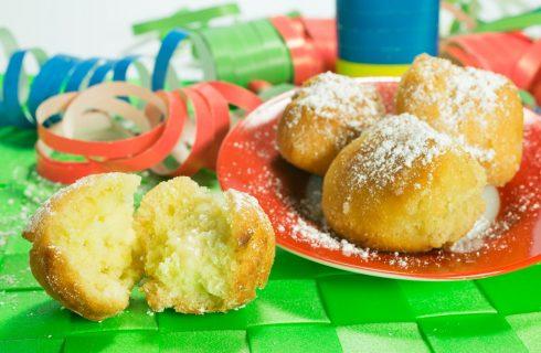 Le frittelle di Carnevale al forno per chi è a dieta