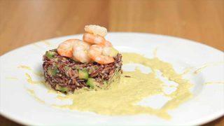 Insalata riso e gamberi: gustosa