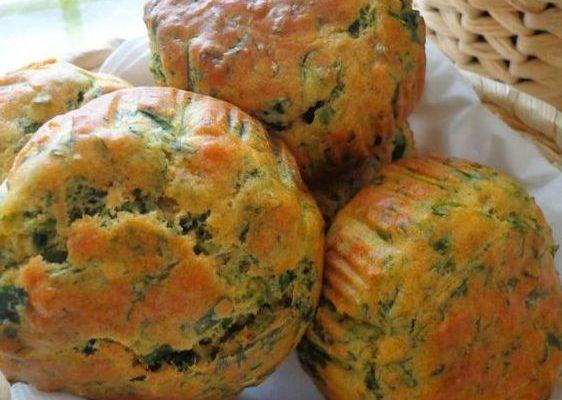 Muffin salati con ricotta e spinaci: la ricetta facile per l'aperitivo