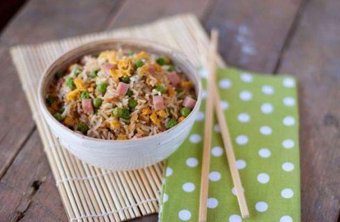 Il riso alla cantonese con la ricetta di Benedetta Parodi