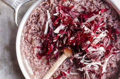 Il risotto al radicchio e taleggio con la ricetta della Prova del Cuoco