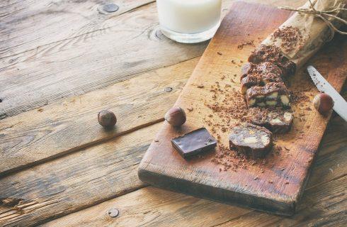 Come fare il salame di cioccolato vegan