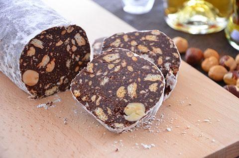Il salame di cioccolato da preparare con il Bimby