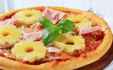 pizza e ananas