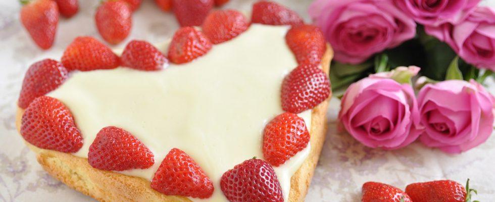La ricetta della torta di San Valentino dietetica ma irresistibile