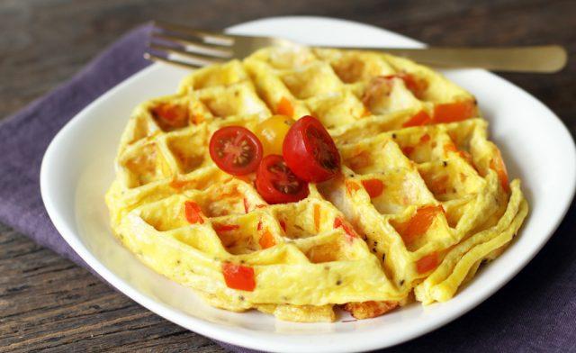 waffle-omelette