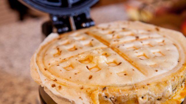 waffle-quesadilla