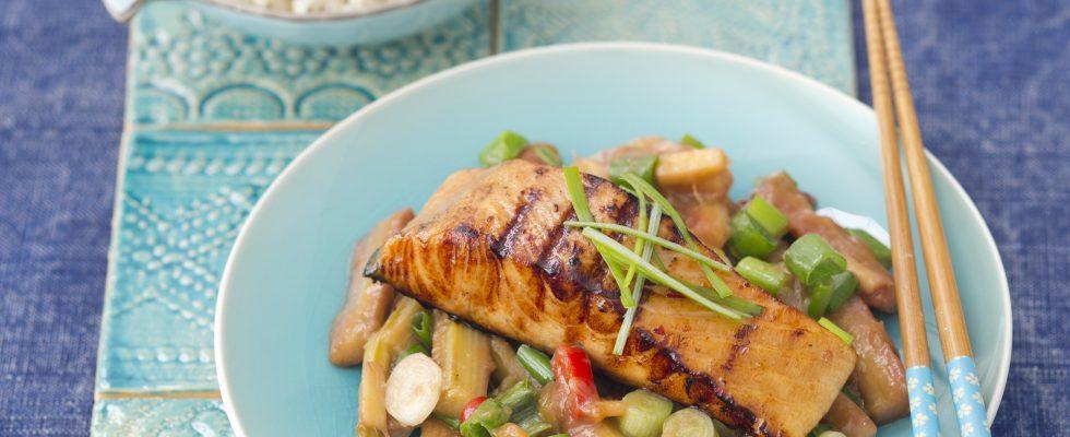 Salmone in salsa teriyaki: per la cena