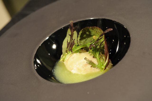 mantecato-di-luccio-succo-di-mela-verde-e-zenzero