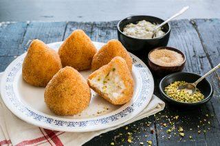 Arancine al pistacchio: bontà siciliana