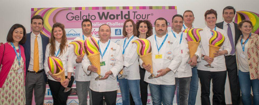 Chi sono gli 8 vincitori del Gelato World Tour