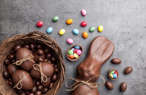 I coniglietti di Pasqua al cioccolato da fare con i bambini