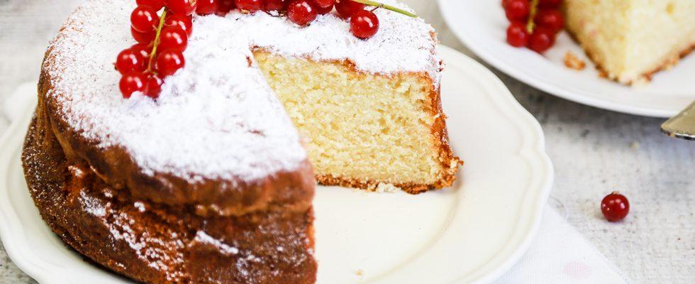Molly cake: torta alla panna