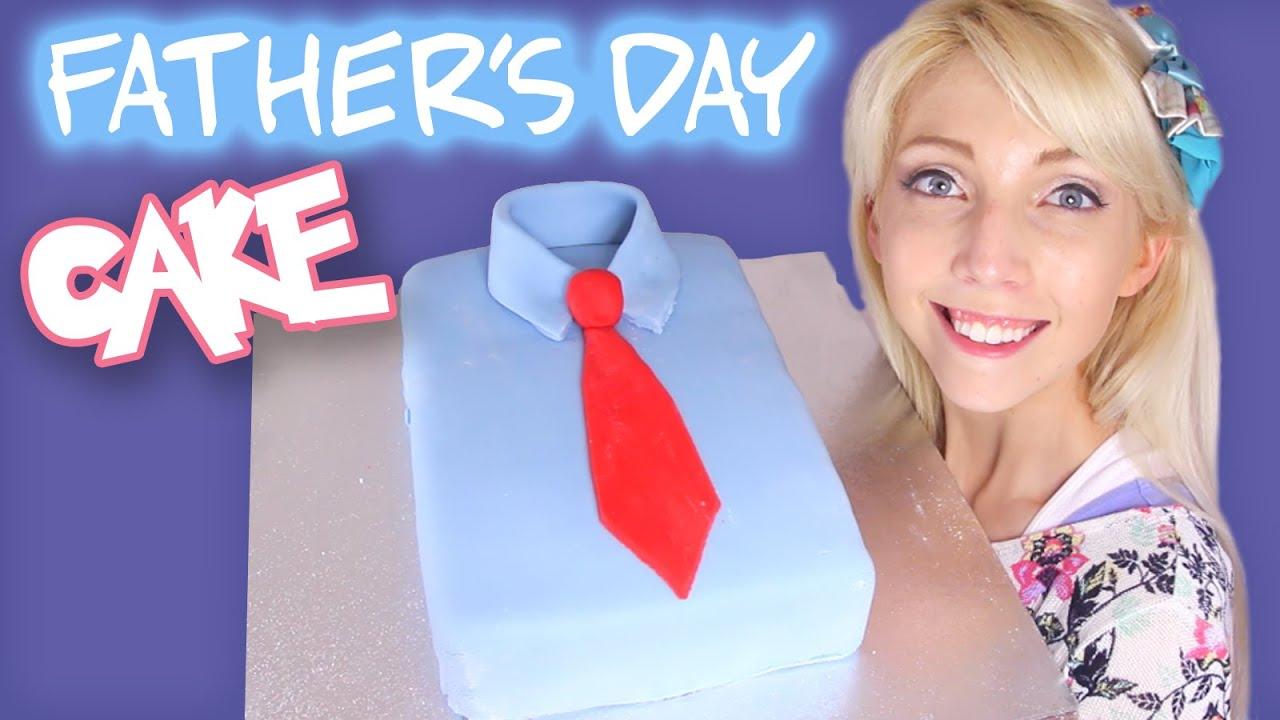Torta a forma di camicia per la Festa del papà – tutorial
