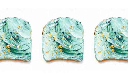 Nuovi trend: mermaid toast, un sandwich da sirene
