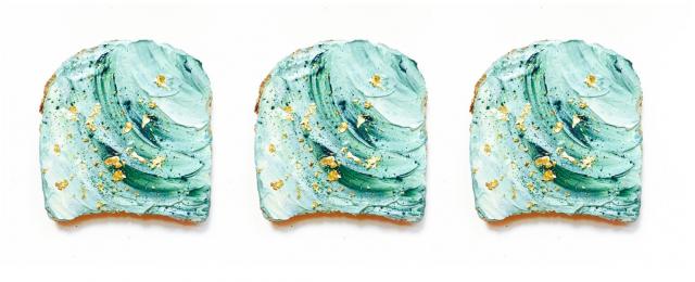 Nuovi trend: il mermaid toast