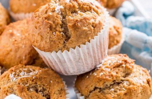 I muffin alla ricotta e cocco perfetti per la merenda