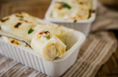 Paccheri, patate e formaggio: pranzo della domenica